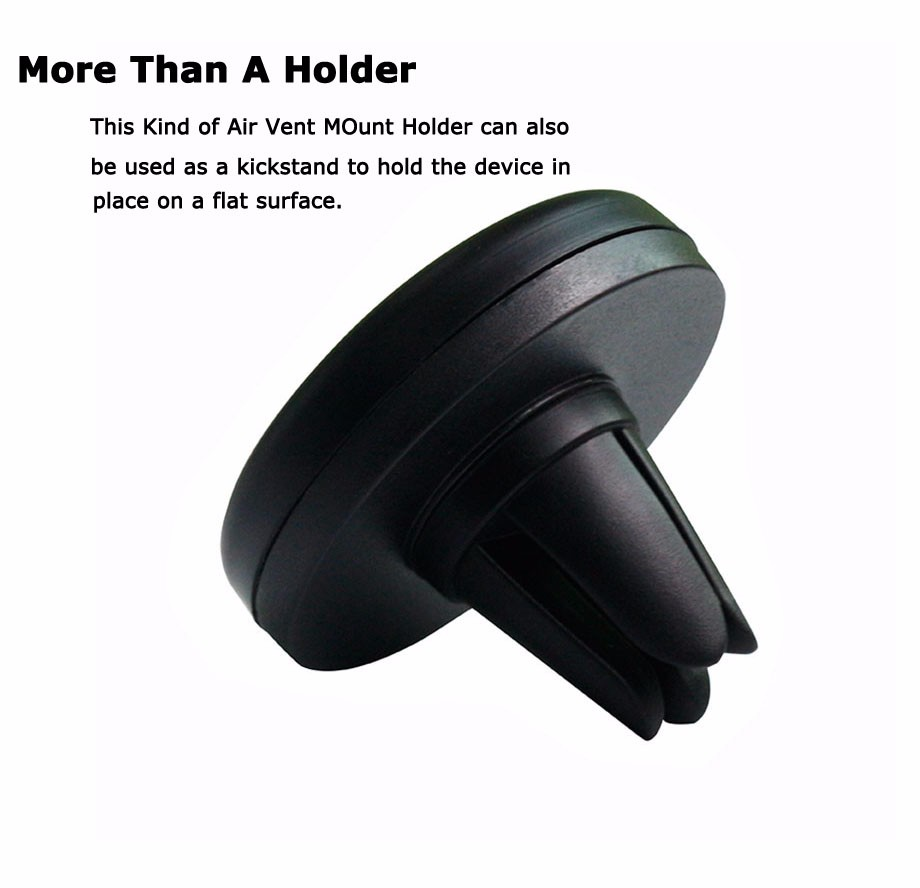 Easy use mobile phone Accessories magnetic phone mount, accept custom LOGO air vent magnetic car holder