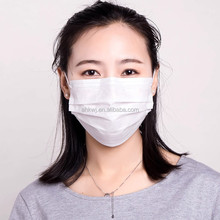 disposable laboratory korean face mask with filter in the middle layer