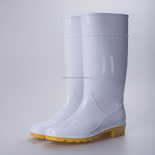 White food factory ladies rain boots