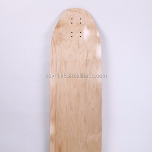 Composite skate Longboard Deck With Canadian Maple and Carbon Fiber