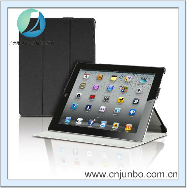 Magnetic Smart Cover Portfolio Case cover for iPad 3