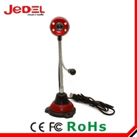 HD usb 2.0 free webcam driver Chinese webcam with led light for laptop