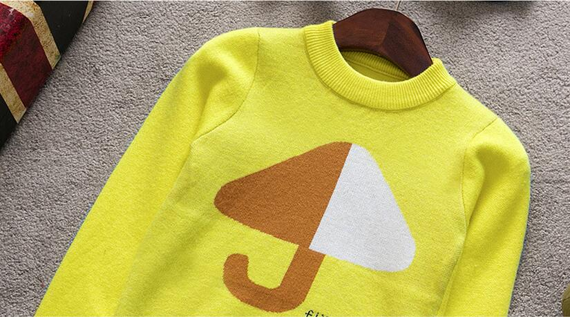 2017 Autumn boy long sleeve pullover sweater ,plain knit sweater designs for kids