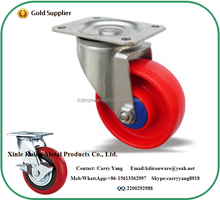 "3-8"" Different Colors Industrial PP Caster Wheel With Top Plate Fitting for Trolley"