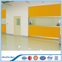 PVC fabric Door Material and plastic fast industrial door factory used