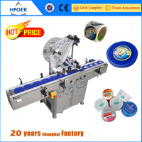 flat surface attaching plastic labeling machine