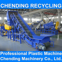 CHENDING high efficient pp pe film washing line recycling machine water recycling system