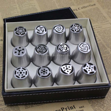 Russian Stainless Steel Pastry Icing Nozzles Decorating Cakes Cake Tips sets,cake piping set