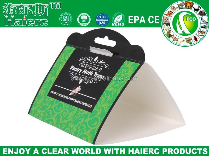 Haierc 2018 Amazon hot sell Pantry Moth Traps With Pheromone Attractant