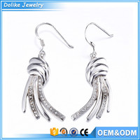Guangzhou fashion jewellery fashion earrings wholesale,tassel earing