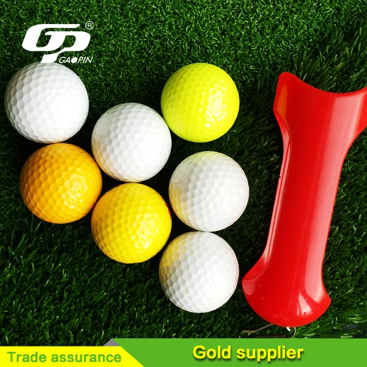 Hot Sell used 2-Piece tournament large golf ball blank golf ball small golf balls