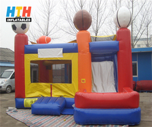 Cheap Inflatable combo bounce house for sale
