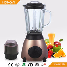 stainless steel housing blender, glass jar electric juicer mixer professional smoothie ics crushing blender