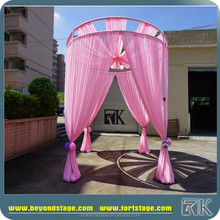 professional reasonable price wedding round backdrop poles on the sale