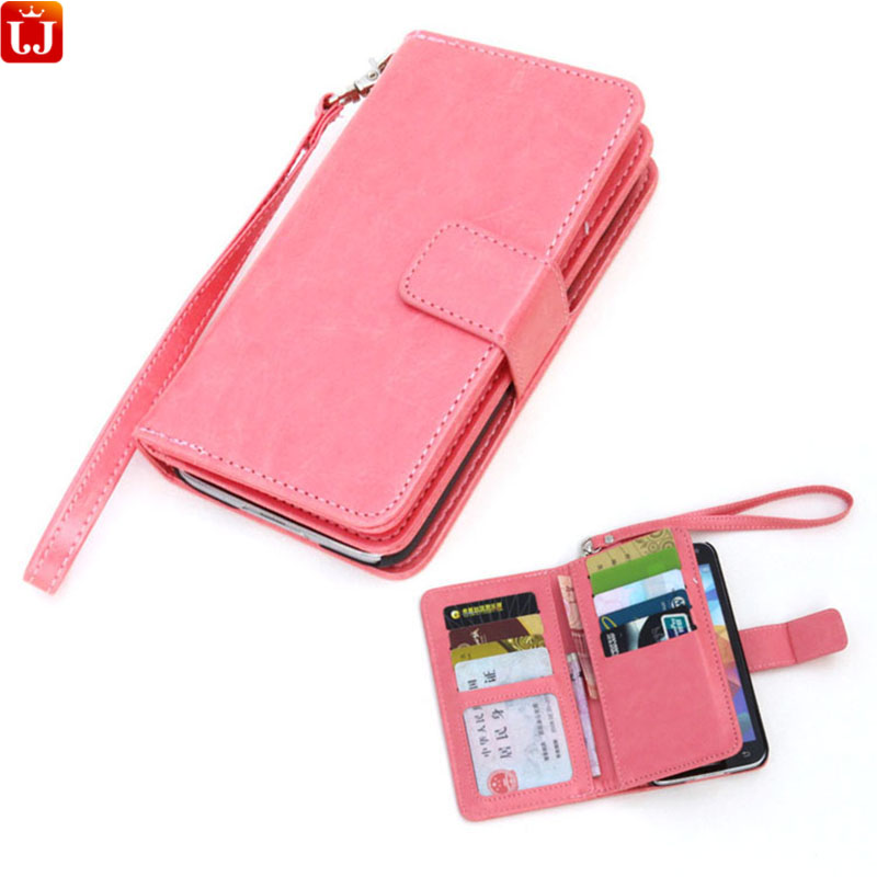 Wallet Case For Samsung Galaxy S5 Cover With 9 Card Holders Phone Case Flip Cover + Cash layer + Photo Frame