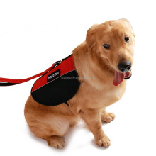 Comfotable Service Dog Vest with 2 Removable Patches Badges,Mesh and Neoprene Padded Dog Harness