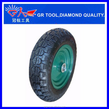 3.50-8 deep tread pattern air rubber dolly wheels