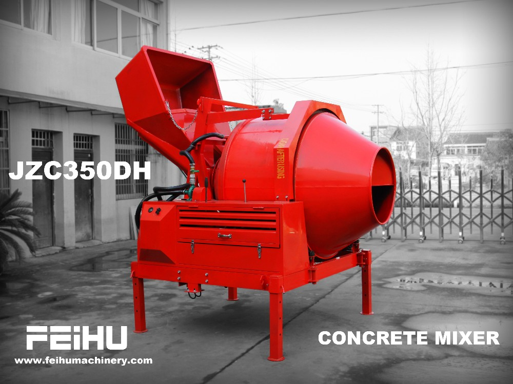 JZC350 Hydraulic portable Concrete Mixer