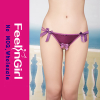 Wholesale Purple Open Front G-string Sexy Girl G String