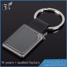Latest design Free sample 25mm key chain blanks
