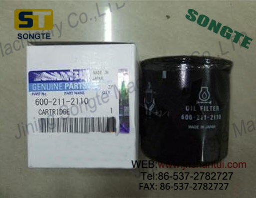 PC130 excavator 4D95 engine cartridge oil 600-211-2110