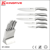 Stainless steel 6 pcs chef knife set