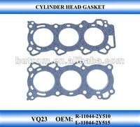 automobile Cylinder head gasket VQ23 gasket used cars