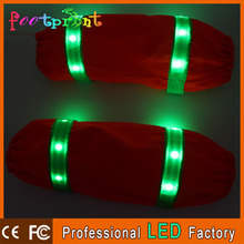 reflective led lighting oversleeve glowing safety arm cover bright for protection