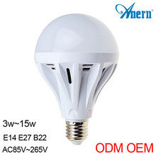 Alibaba china supplier 5W e27 heat resistant light bulbs