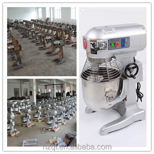 Stainless Steel 10L Electric Pastry Mixer Electric Food Mixer B10 Planetary Mixer