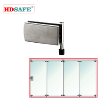 High quality glass partitions glass door design SA8700A-14