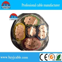 5 core electric power cable xlpe insulation copper aluminum 240mm 300mm 5 core power cable
