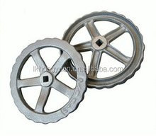 High quality forged grey iron handwheel in China