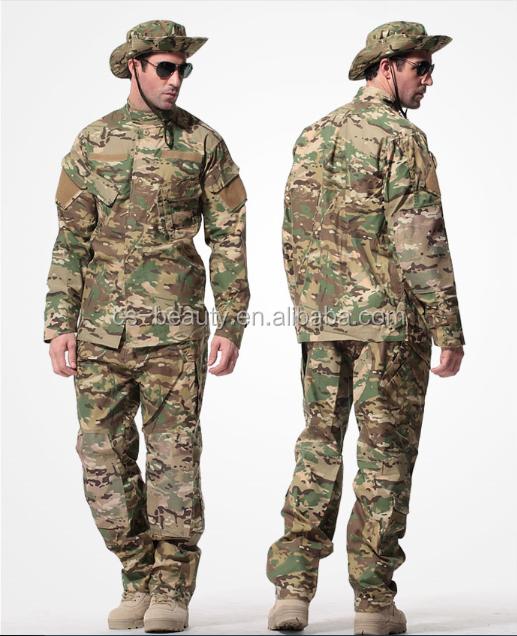 Wholesale Tactical Camouflage Suit Tactical Military Combat Uniform CS Airsoft Camo Suit Includes Jacket & Tactical Pants