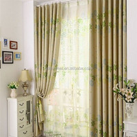 Lace window curtain and drapes for window