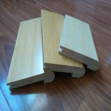 Bamboo flooring installation accessories- stair nose