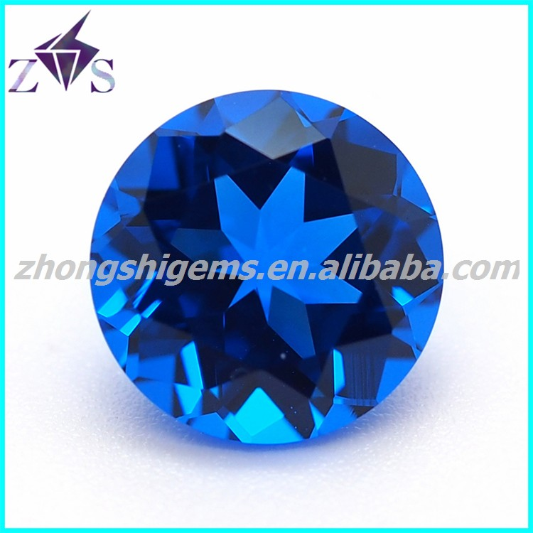 Top Quality Blue Sapphire loose CZ Wholesale