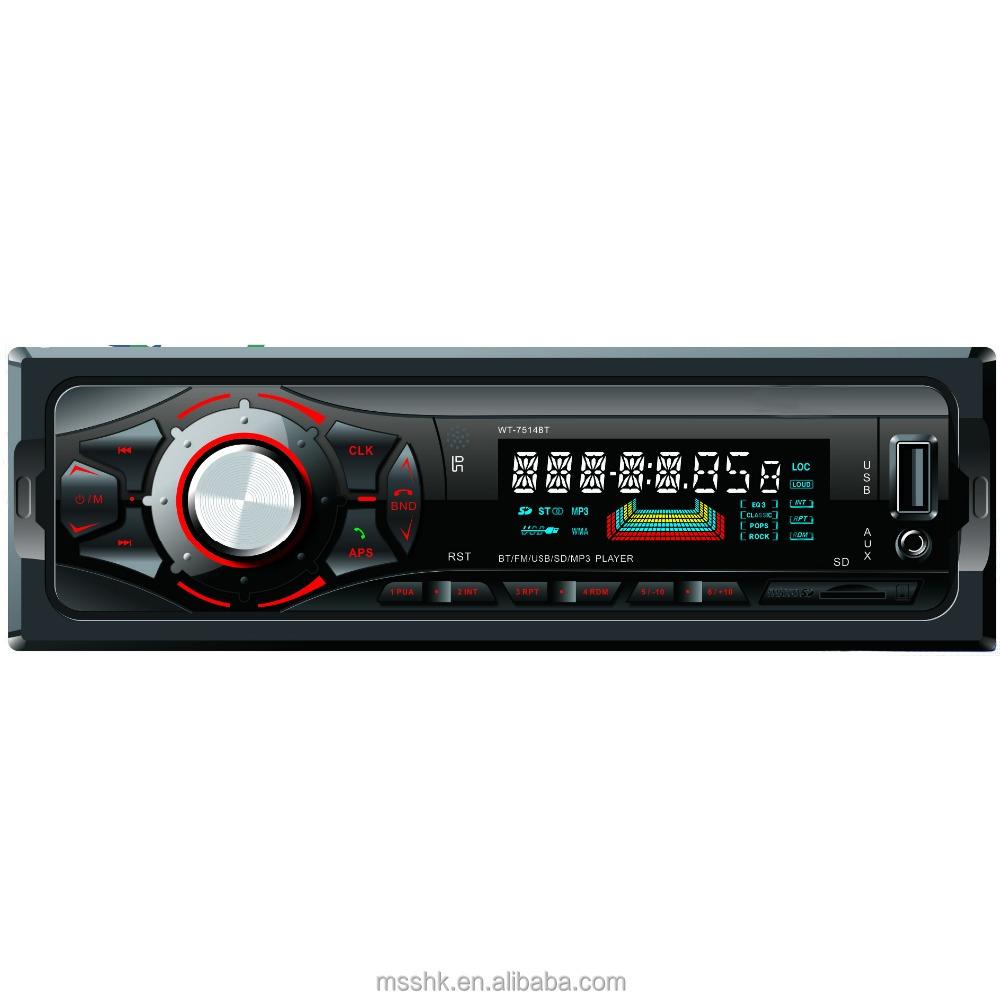 Car MP3 Player Detachable Panel Car Radio/USB/SD Player