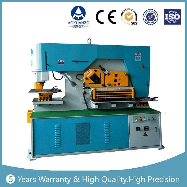 Q35Y 16 hydraulic iron worker machine combined punching and shearing
