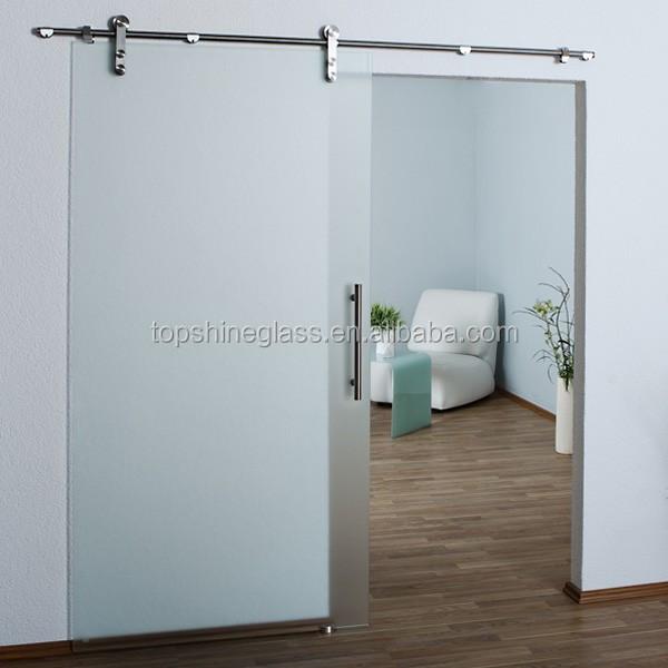 Glass Sliding Door Framed Glass Sliding Door Frosted Glass Sliding