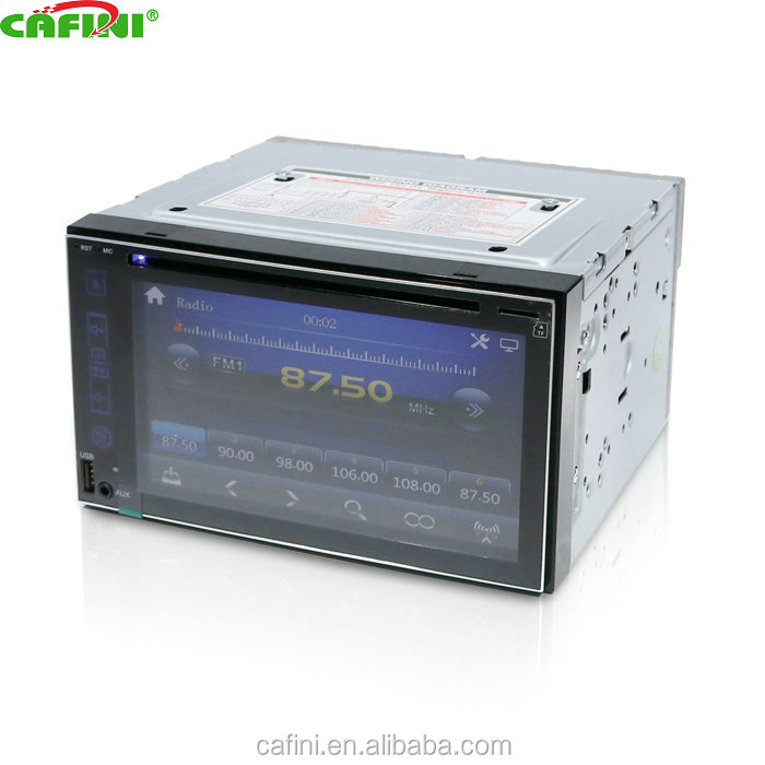 2 din 6.2 inch universal Car audio system with GPS Navigation