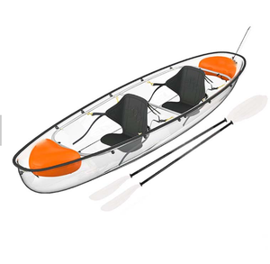 High quality clear bottom paddle kayak for sale malaysia