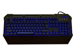ROCKSOUL Red Blue Purple Color USB Wired Gaming Keyboard for Game PC