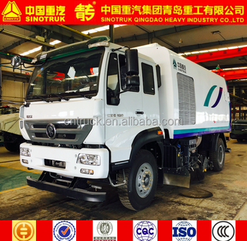 SINOTRUK QINGDAO sweeper/road sweeper/SWEEPER TRUCK/4x2 sweeper truck FOR SALE