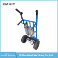 motorized battery powered electric hand pull trolley for agriculture