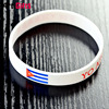 White color free rubber band bracelet