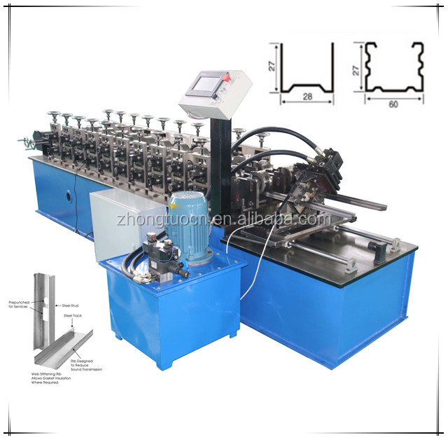 Drywall Galvanized Stud Roll Forming Machine