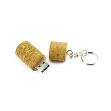Wooden Wine Corks Design Usb Flash Drive 32Gb Pendrive 64Gb U Disk 16Gb Usb 2.0 Flash Stick 8Gb 4Gb Pen Drive With Key Ring