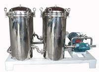 Stainless steel high efficient well water filter equipment system with engine power