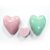 China manufacturer OEM big heart shape cup cake donut cookie shower fizzer